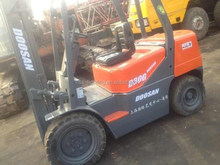 Doosan 3 ton used forklift with abundant stock second hand forklift