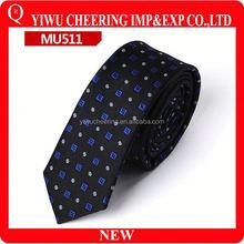 5 CM Wedding Groom Party Men's Skinny Slim Tie Polka Dot Print Polyester Neckties