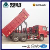 SINOTRUK Off-road Wide Mining Dump Truck Euro2 sand tipper truck for sale