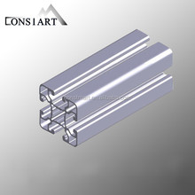 Constmart best sale good quality cream powder coating 6000 series grade and heat sink application aluminium profile radiator