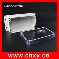 158*90*64mm New cutting hole plastic electrical switch enclosure for indoor or outdoor