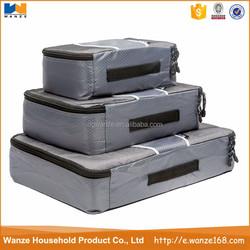 Lightweight Ripstop Nylon Travel Packing Cubes Carry-On Luggage Travel Packing Cubes