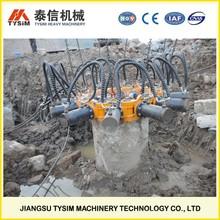 Excavator hydraulic breaker, KP380A cutting diameter 1800mm concrete pile machine