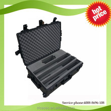 New products 2016 for waterproof crushproof large plastic gun case