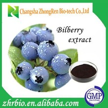 Pure Natural High quality Bilberry extract / anthocyanidin 5%-40%