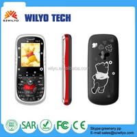 "WN13C 1.8"" Cute Home Phone Gsm Quad Bands Dual Sim Alibaba in Russian Language Phones"