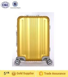 Hot sale durable swivel caster alum trolley luggage with TSA lock