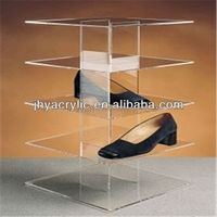 POP acrylic shoe box display stand
