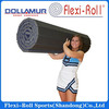 DOLLUMAR Flexi-roll dance mat/gymnastics crash mat/cheerleading mat/carpeted protection mat