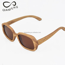 wholesale polarized sunglasses bamboo frame material eyewear for man and woman