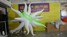 Colorful led inflatable star