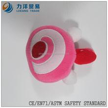 promotional toys/plush fruit/ fantastic toys fruit with plastic hook or keyring, Customised toys,CE/ASTM safety stardard