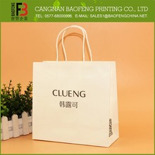 Fashion Design Different Types Luxury Paper Shopping Bag