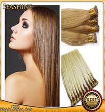 6a,7a,8a 100% Human Hair High Quality Popular Cheap Wholesale 0.5/0.8/1.0g Peruvian Pre Bonded Hair Keratin Hair I Tip Hair