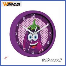 8 inch Plastic cartoon wall clock