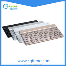 Bluetooth 3.0 Slim Aluminum Keyboard with 7 -Color Backlight
