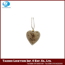 Hot selling good reputation high quality little wooden heart