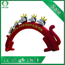 2015 cheap advertising inflatable arch,inflatable finish line arch, custom wheel arches on sale