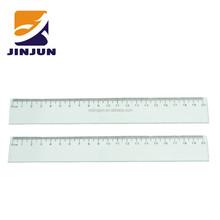 20 cm transparent plastic ruler for kids