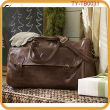 Cook leather weekender bag travel bag for men