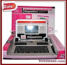English spanish learning toy laptop