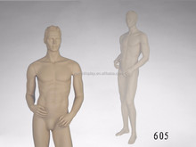 Hair head color full body male mannequin