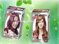 Italiano 35ml*2 marcas color de cabello a base de hierbas naturales tintes de cabello