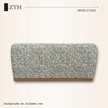 2015 Hot sale metal frame evening wedding bag fashion pvc clutch bag