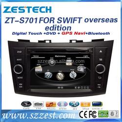 factory OEM Dvd gps Car audio video entertainment navigation system for Suzuki Swift