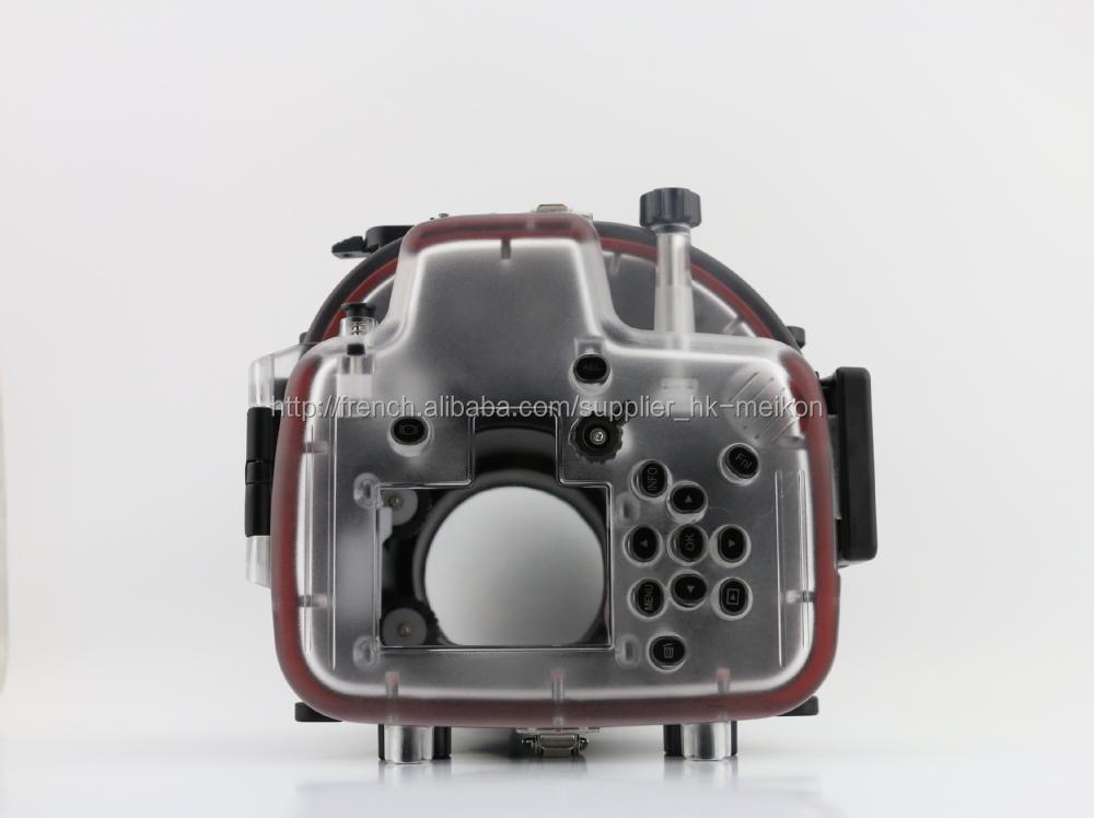 Meikon Appareil photo étanche plongée pour Olympus EM1(12-40mm), 40m Caisson étanche