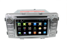 Android 4.4 Capacitive touch screen Car DVD Player with DVD GPS Radio RDS BT USB 3G WIFI Function for Toyota Hilux 2012