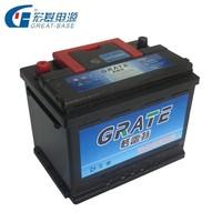 12V 75Ah din75 automotive batteries din standard auto batteries cheapest car battery prices