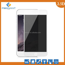 2015 New products color Privacy silk printing tempered glass screen protector for iphone 6/6s/6 plus/6s plus