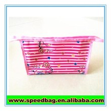 Pink cheap price promotional bag cosmetic gift bag for promotion