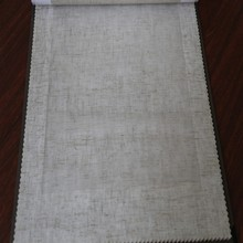 Unique Turkish yarn dyed linen sheer fabric for classic curtains and valances