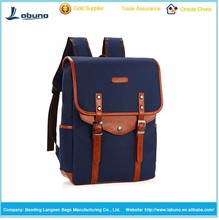 wholesale good quality canvas laptop backpack school backpack