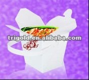 Custom paper pulp food container/ paper food container with PAPER handle
