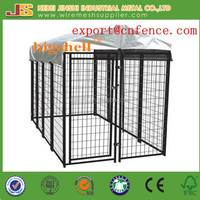 USA standard 5x5x4' powder coated welded dog kennel fence panel