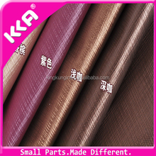 Grid/Lattice Printed Synthetic PVC Leather For Luggage Bag Shoe Etc