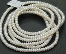 15 Inches - 6 mm Natural Freshwater Cultured Pearl Smooth Polished Round Beads Strand - J-E000487