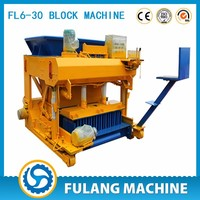 High quality easy operated hollow brick machine
