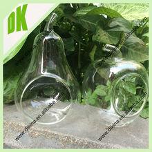 fancy glass hanging bubble glass candle holder tiny glass terrarium home decor terrarium round and pear universe terrarium kit