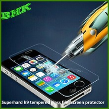 perfect adhesion explosion proof superhard h9 tempered glass film screen protector for iphone 5 5s 5c