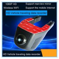 2015 new model 1080p full HD car black box wifi car camera dvr