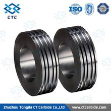 Brand new pr6.0 125x82x15mm tungsten carbide rolls for forming smooth steel wires as your requested