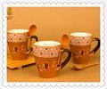Atacado ceramic porcelain e faiança copo caneca de café cappuccino / espresso / cofee / beber chá copas set