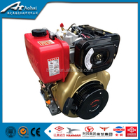 Powerful 3-12HP Air Cooled Diesel Engine 9HP 186F With Best Parts Competitive Price For Widely Applications 186f diesel motor