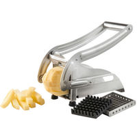 Stainless Steel Potato Chipper French Fries Slicer Chip Cutter Chopper Maker