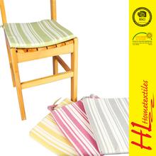 Low MOQ plain custom colorful stripe printing cushion covers,wholesale sofa cushion covers,latest design car seat cushion covers