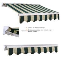 sun shade parasol aluminium frame waterproof canvas door awning